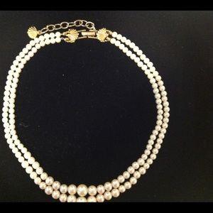 Vintage Richelieu Double Strand Pearl Choker